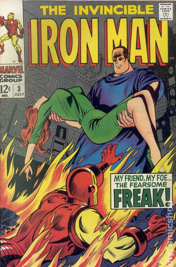 My absolute best quarantine score Iron Man #3 - this is as big a deal to me as my Silver Surfer 1-18 collection - once I have Iron Man 1-20, Avengers 1-20 and Cap 100-120 - I think I will have finally accomplished something totally great in my life
