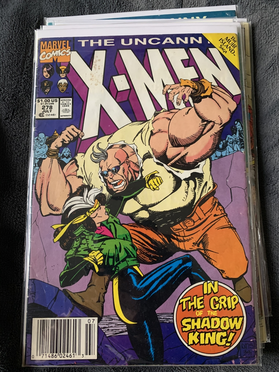 Stopped by Collected: Your Pop Culture Headquarters and picked up these bad boys today. #286 is a Jim Lee cover and #309 is a John Romita Jr cover. The CLZ app made it so easy - I simply sent Ron a screen shot of my Uncanny X-Men inventory and asked him to fill in $15.00 worth of gaps.